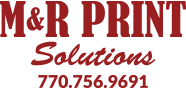 M&R Print Solutions Logo